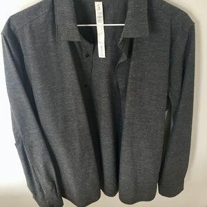 Men's Lululemon Dark Gray Travel/Commute Shirt